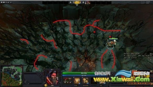 《DOTA2》实用技巧 教你如何在树林中进行反杀
