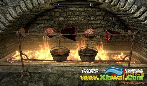 《上古卷轴5:天际》食物烹饪教程