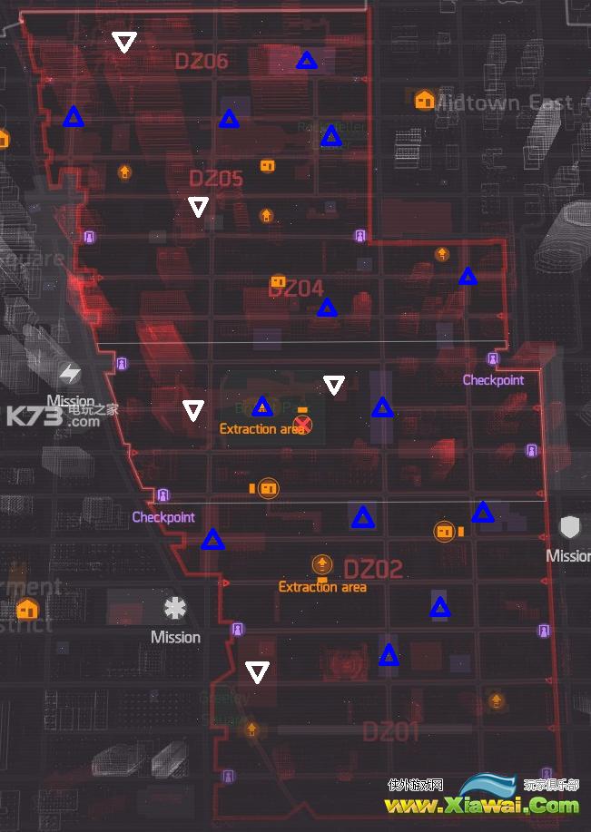 全境封锁暗区boss位置图